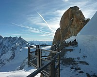 Chamonix, panorama Mont Blanc