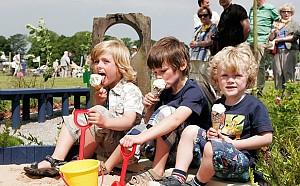 Cu copiii la festivaluri si spectacole in aer liber