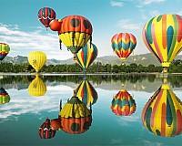 Baloane pe cer