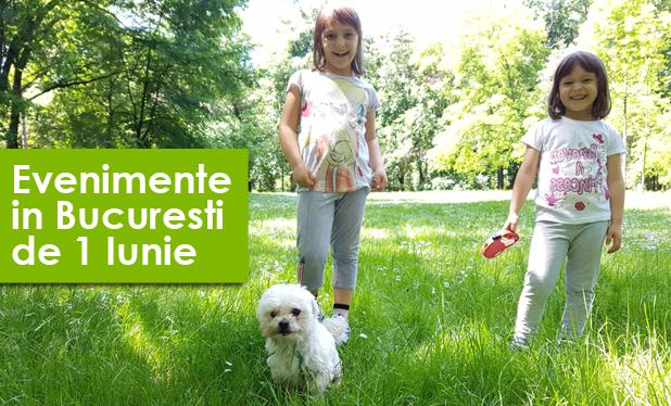 Cum petrecem de Ziua Copilului. Ce evenimente au loc in Bucuresti de 1 iunie