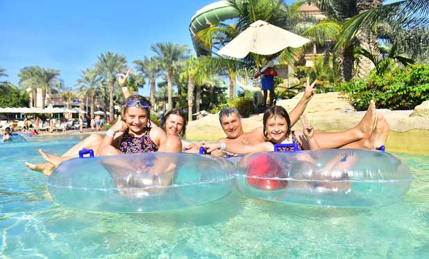 O zi in Aquaventure Waterpark – Atlantis The Palm Dubai