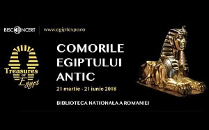 Expozitie Comorile Egiptului Antic. O expunere moderna a celei mai legendare civilizatii antice.